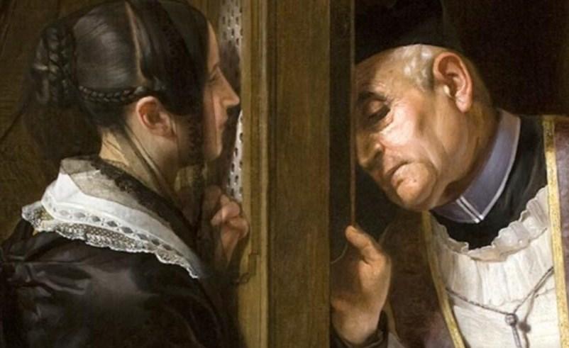 Resultado de imagen para imagenes confesion catolica mujeres