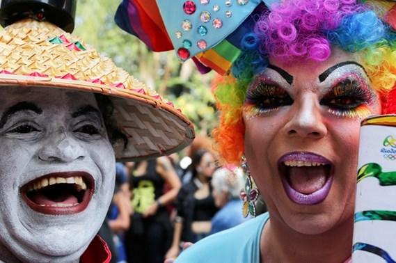 DESFILE DEL ORGULLO GAY EN SAO PAULO